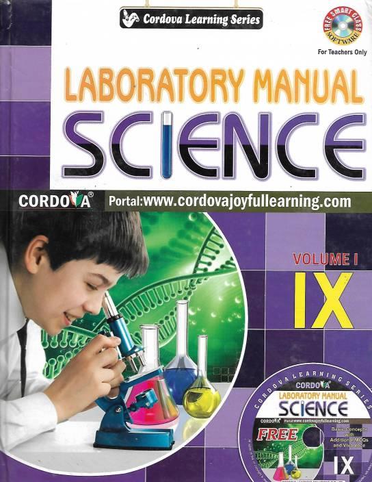 CORDOVA LEARNING SERIES LABORATORY MANUAL SCIENCE VOLUME 1 9