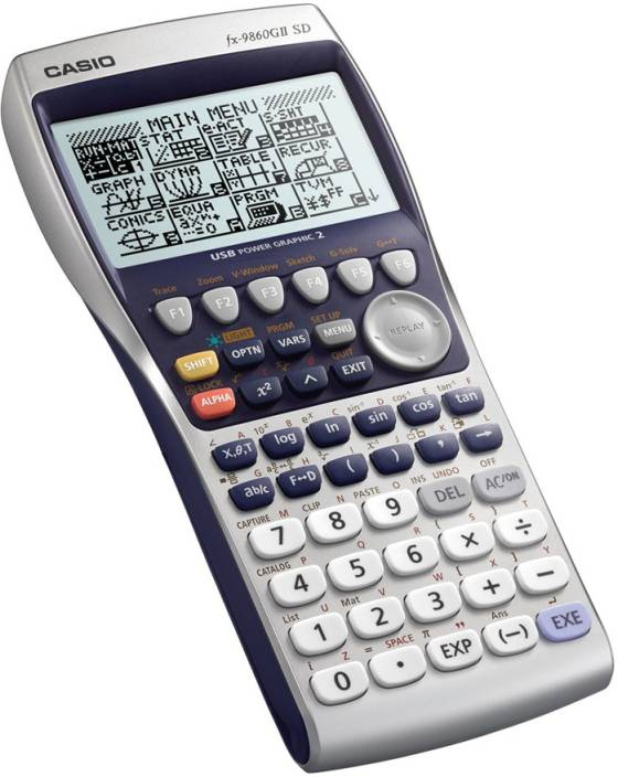 Casio FX 9860GII Scientific Graphical Calculator 12 Digit