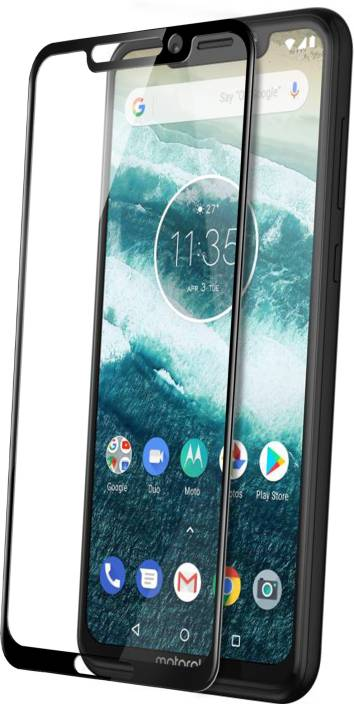Knotyy Tempered Glass Guard for Motorola Moto One Power