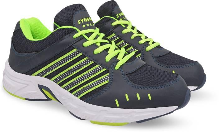 0363f90fcc9 Action Synergy Men s SRH0065 Phylon Sole Sports Running Shoes For Men (Green