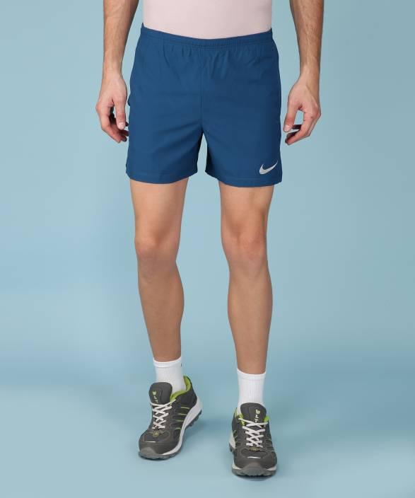 76066436697 Nike Solid Men Blue Sports Shorts - Buy Nike Solid Men Blue Sports ...