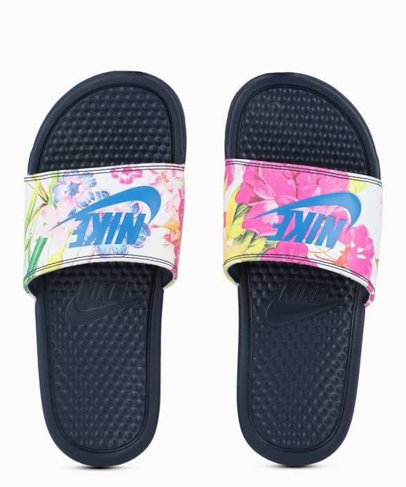 0f86623e0fb6 Nike WMNS BENASSI JDI PRINT Slides - Buy Nike WMNS BENASSI JDI PRINT Slides  Online at Best Price - Shop Online for Footwears in India