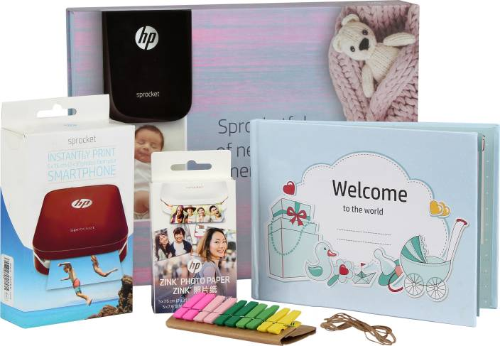 HP Sprocket Gift Pack Photo Printer