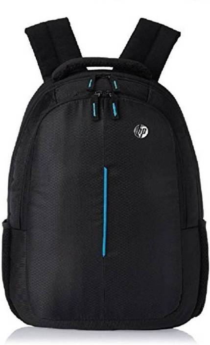 HP 15.6 inch Expandable 20 L Laptop Backpack (Black) Waterproof School Bag