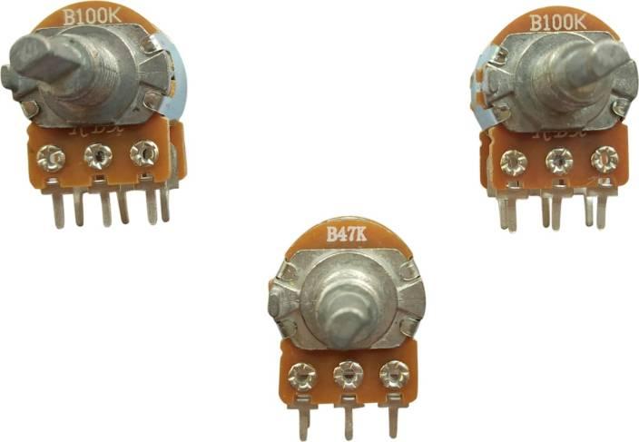 ESP 100K, 100K, 47K Potentiometer Dual Audio Volume Control