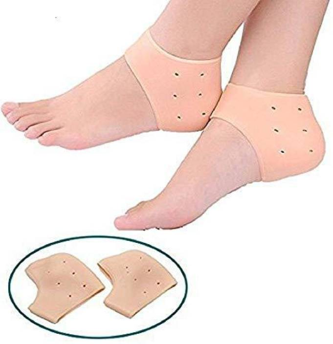 a7783168fe SYGA Set of 2 Heel Foot Protector, Foot Arch Support Ankle Pain Relief  Socks With