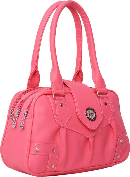 7a0e6fab4bf9 Buy FD Fashion Hand-held Bag Pink Online   Best Price in India ...