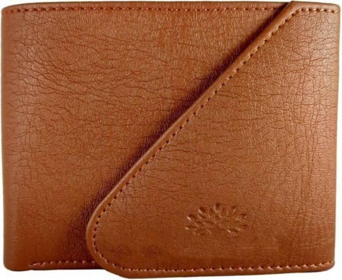 Quetzal Men Casual Tan Artificial Leather Wallet