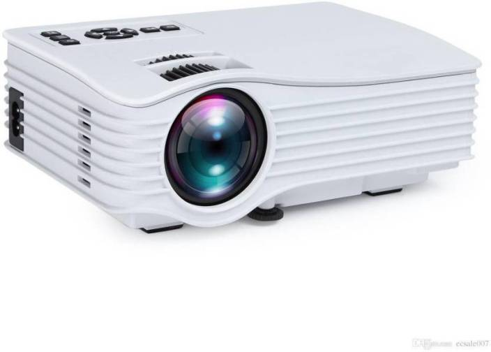 Style Maniac 3D Full HD LED Home Theatre Projector with HDMI , USB, Pan Drive, AUX , AV, SD Card Port (for Office and Home) with 1-Year Warranty Portable Projector