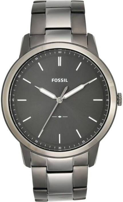 e9d656e8dc58 Fossil FS5459 The Minimalist 3H Watch - For Men - Buy Fossil FS5459 The  Minimalist 3H Watch - For Men FS5459 Online at Best Prices in India