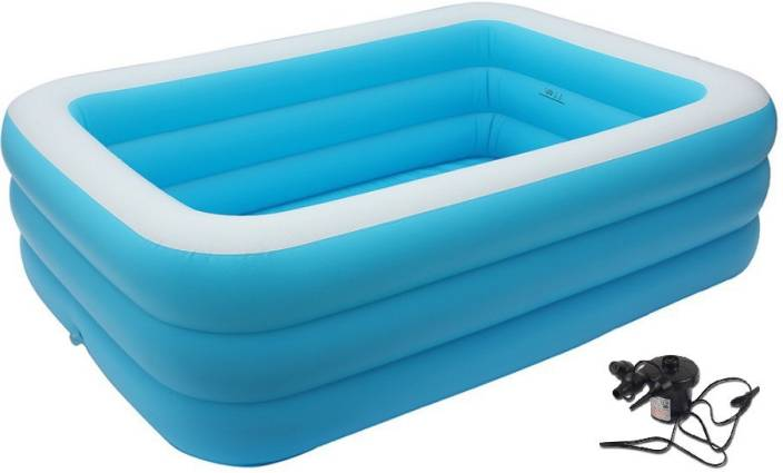 Cho Cho Inflatable Swimming Pool for Kids & Adults ( SPA ) Jumbo ...