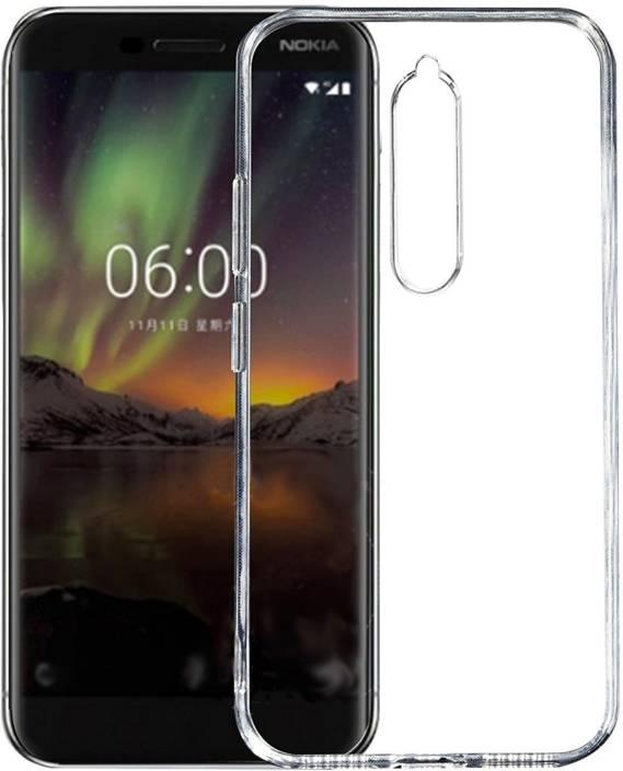 buy online 4233c 823d6 FashionCraft Back Cover for Nokia 6.1 (Transparent, Flexible Case ...