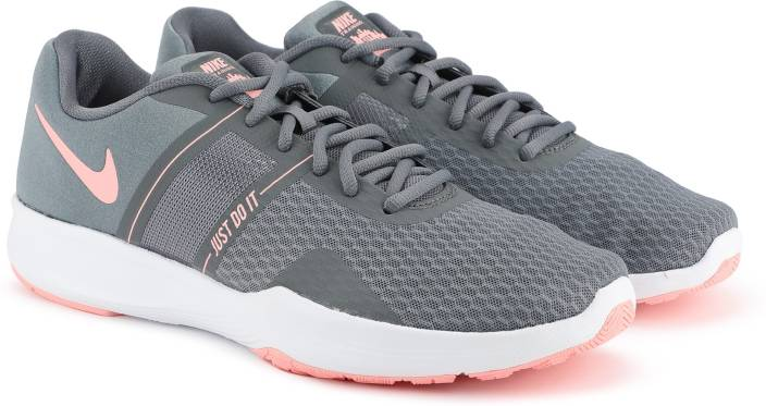 detailed look 26b52 6fde2 Nike WMNS CITY TRAINER 2 Running Shoes For Women (Grey)