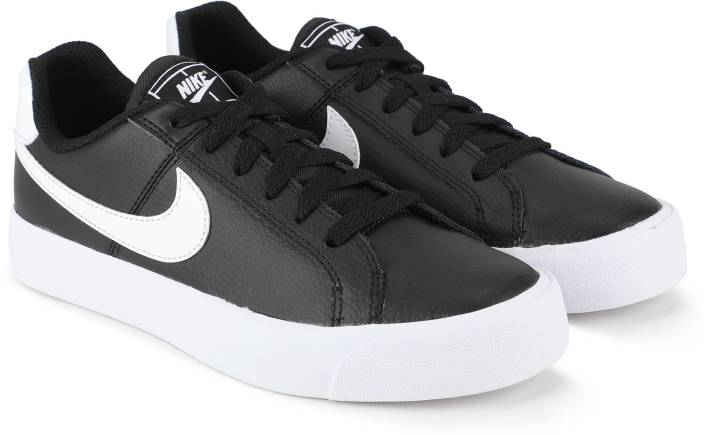 new product 22358 597bf Nike WMNS COURT ROYALE AC Sneakers For Women (Black)