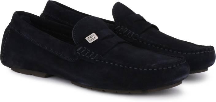 c824513d560b3 Tommy Hilfiger SEASONAL HARDWARE SUEDE Loafers For Men - Buy Tommy ...