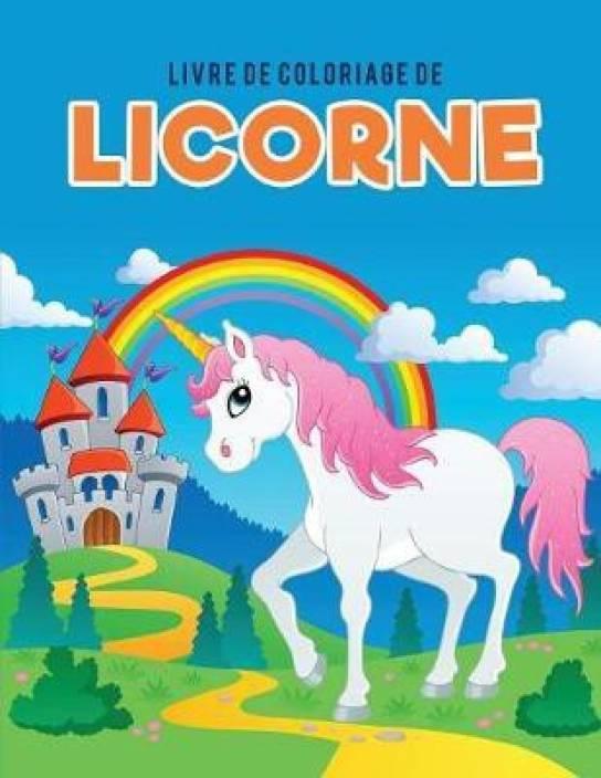 Livre De Coloriage De Licorne Buy Livre De Coloriage De