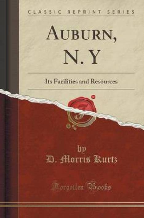 Auburn, N  y: Buy Auburn, N  y by Kurtz D Morris at Low