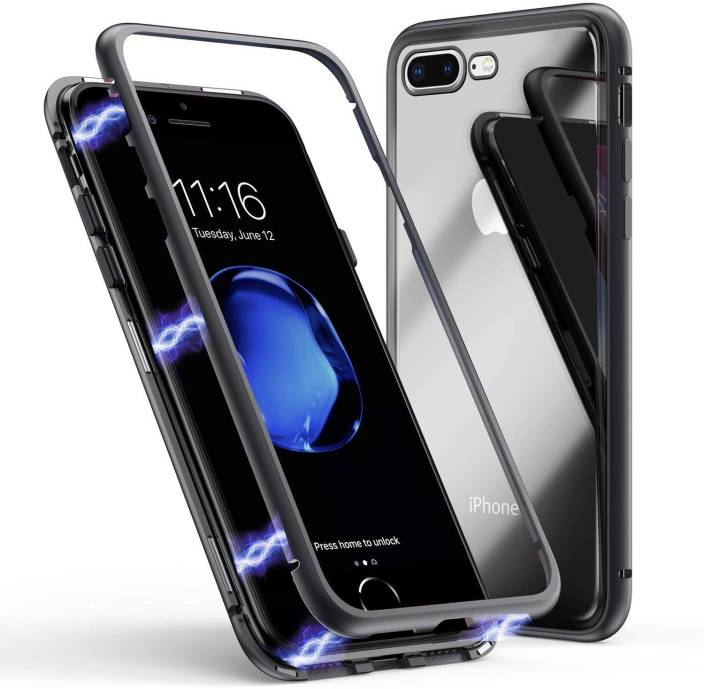 new product b8ae9 0f104 S-Design Back Cover for Apple Iphone 8 Plus (Smart Magnetic ...