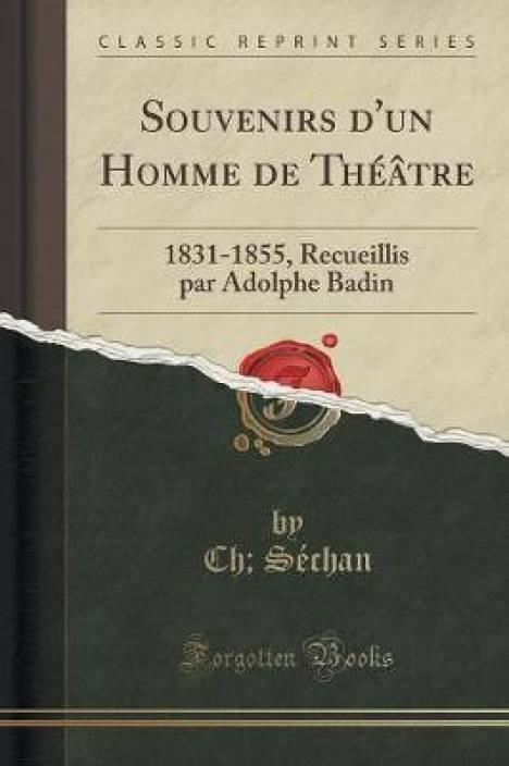 pas cher pour réduction 93040 f07be Souvenirs d'Un Homme de Theatre: Buy Souvenirs d'Un Homme de ...