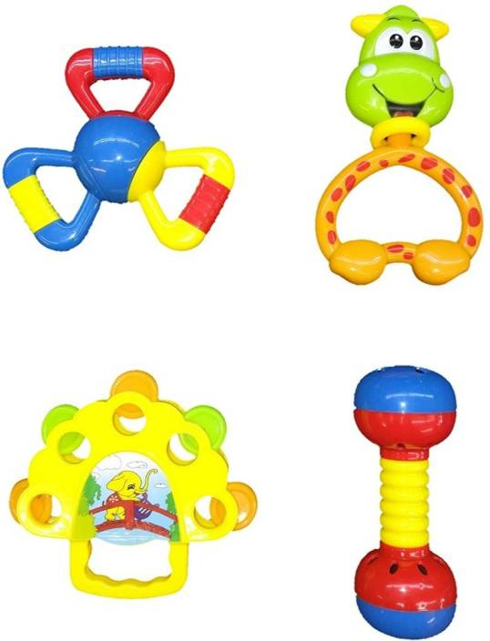 trendy dukaan rattle toys for babies infants and toddlers bpa