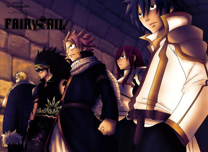 308bfb6f66 Athah Anime Fairy Tail Laxus Dreyar Gajeel Redfox Natsu Dragneel Erza  Scarlet Gray Fullbuster 13 19 inches Wall Poster Matte Finish Paper Print  (13 inch X ...