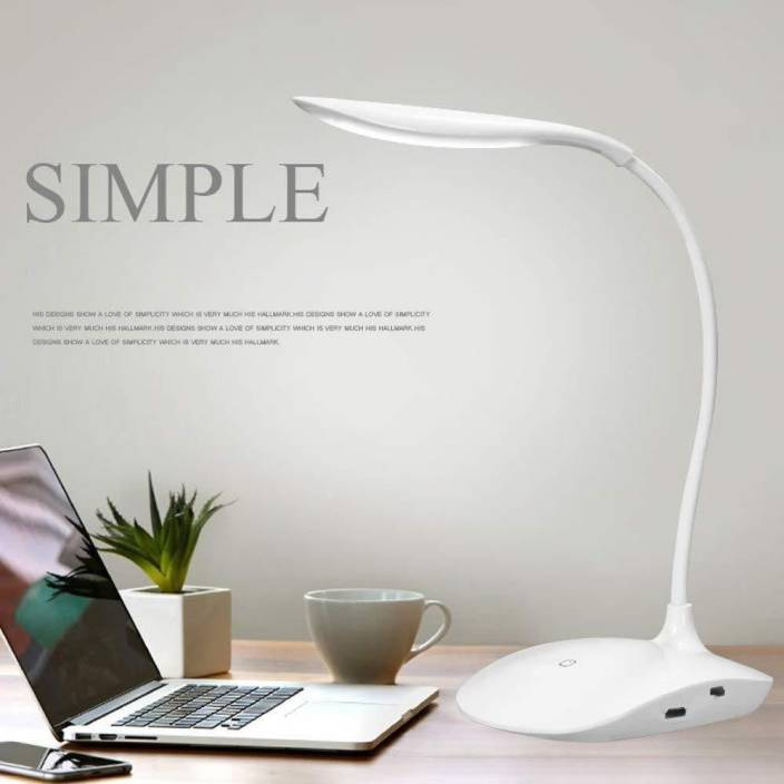 Shop 2 Home Rechargeable Led Touch On Off Switch Desk Lamp Children Eye Protection Student Study Reading Dimmer Table Lamp