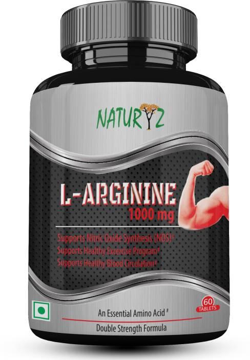 NATURYZ L-Arginine-1000mg (Pre-workout tablets) 2f62cdd816b8