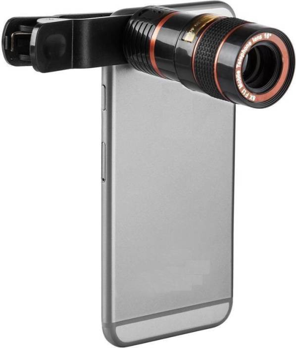 46edb4465b Piqancy Mobile Telescope Lens kit for all mobile camera with 8x zoom DSLR  effect Adjustable focus HD Pictures Best ...