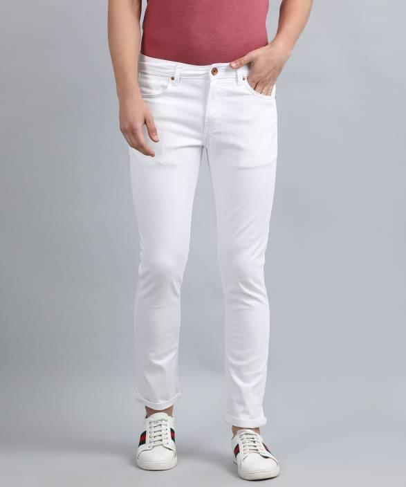 312f2908 United Colors of Benetton Skinny Men White Jeans - Buy United Colors of  Benetton Skinny Men White Jeans Online at Best Prices in India |  Flipkart.com
