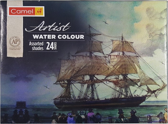 Flipkart Com Camel Artist Water Colour 24 Shades Water Color