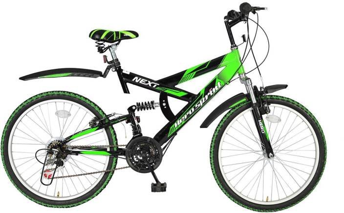 56fc2e21441 Hero Next 24T 18 Speed Sprint 24 T Mountain Cycle (18 Gear, Multicolor)
