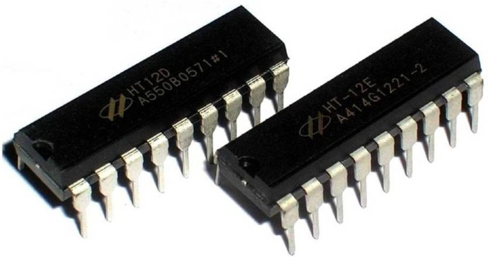 10 Pcs HT-12D HT12D IC Remote Decoder Fit for Wireless Device System Quality