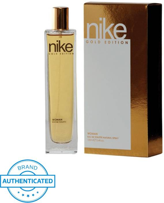 Buy Nike Gold Edition Natural Spray EDT - 100 ml Online In India ... 97cc4e7bacd5