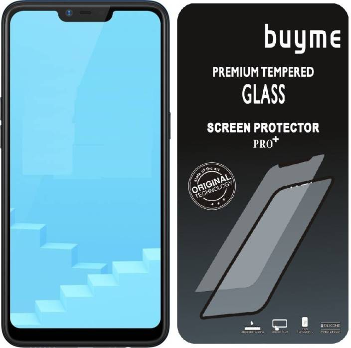 BuyMe Tempered Glass Guard for Realme C1 (Pack of 1)