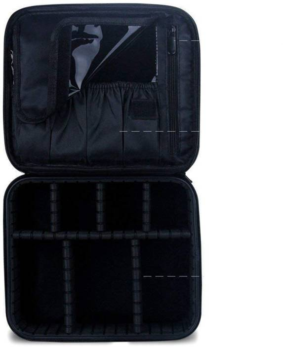 Store2508 Makeup Cosmetic Storage Case Box With Adjustable
