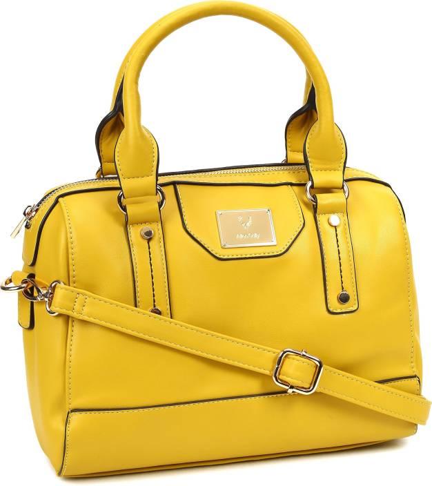 c8a3be9cef62 Allen Solly AHBGFRGBA50218 Sling Bag (Yellow