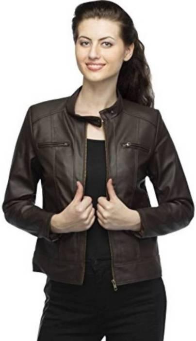 Girls Shopping Full Sleeve Solid Women Jacket