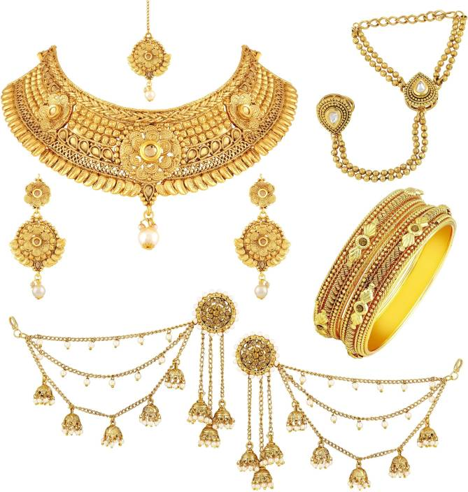 Asmitta Jewellery Zinc Jewel Set