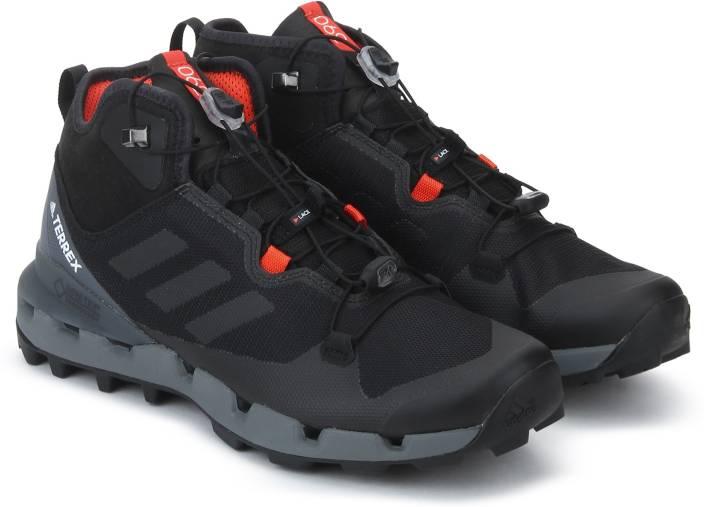 457a25611 ADIDAS TERREX FAST MID GTX-SURROUND Hiking   Trekking Shoes For Men (Black)