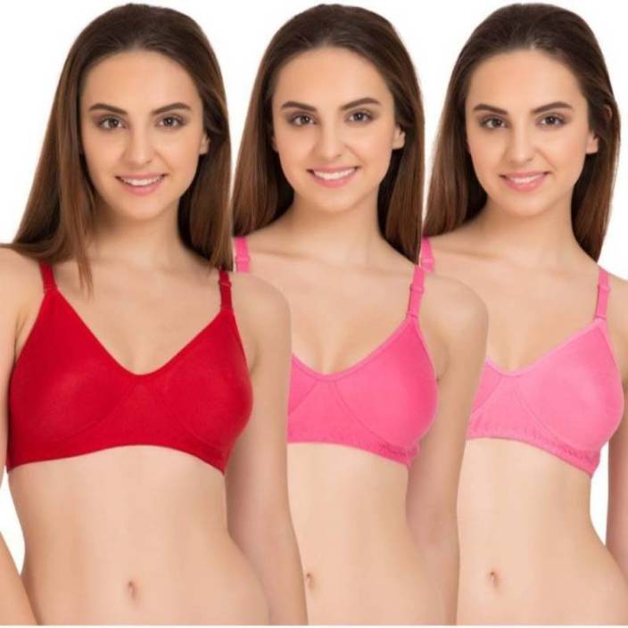 0f44214a35bf3 Hippon Non Padded Seamless Women Full Coverage Non Padded Bra - Buy ...