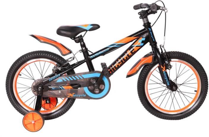 X Bicycle Avigo Sporty Bike For Kids Age Of 5 8yrs Blackred 16 T