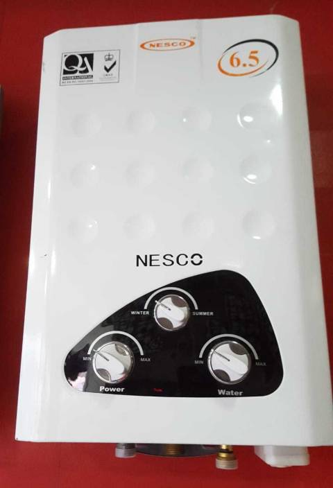 Nesco 6 5 L Gas Water Geyser Price In India