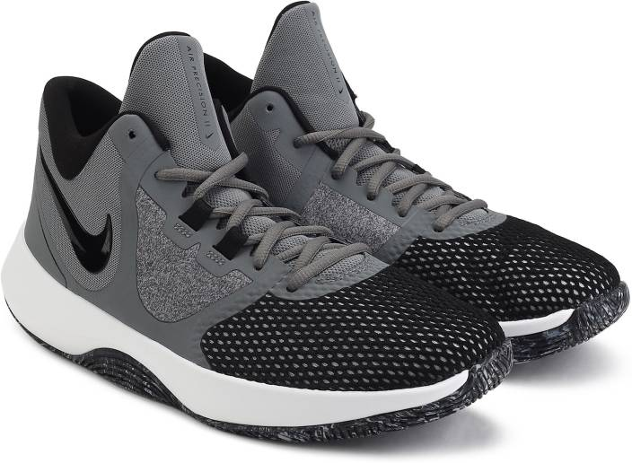 finest selection 74a55 99ab5 Nike AIR PRECISION II Basketball Shoes For Men (Grey)