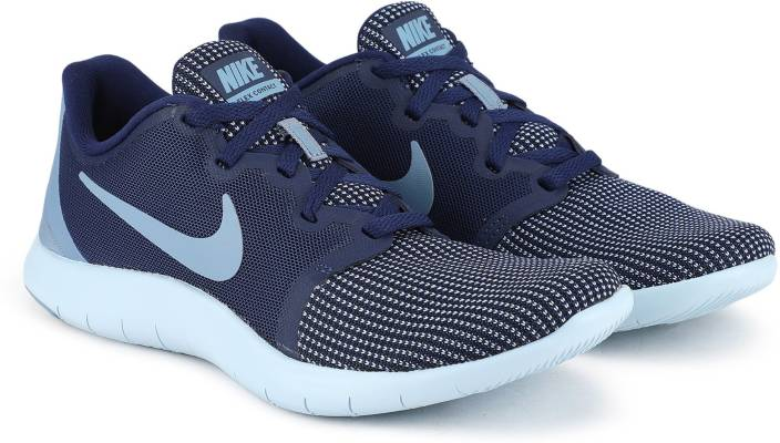 on sale 33bfa 5b067 Nike WMNS NIKE FLEX CONTACT 2 Casuals For Women (Blue)