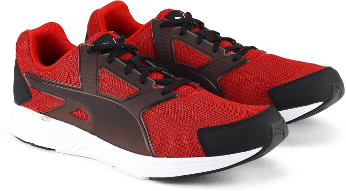info for e8c24 d75be Puma NRGY Driver NM Running Shoes For Men (Red, Black)