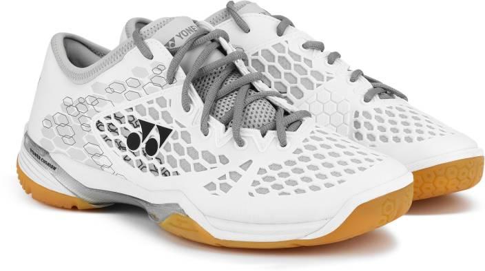 Yonex BADMINTON SHOES SHB 03 ZMEX POWER CUSHION 03 Z Badminton Shoes For Men  (White e60f7fd0bcf