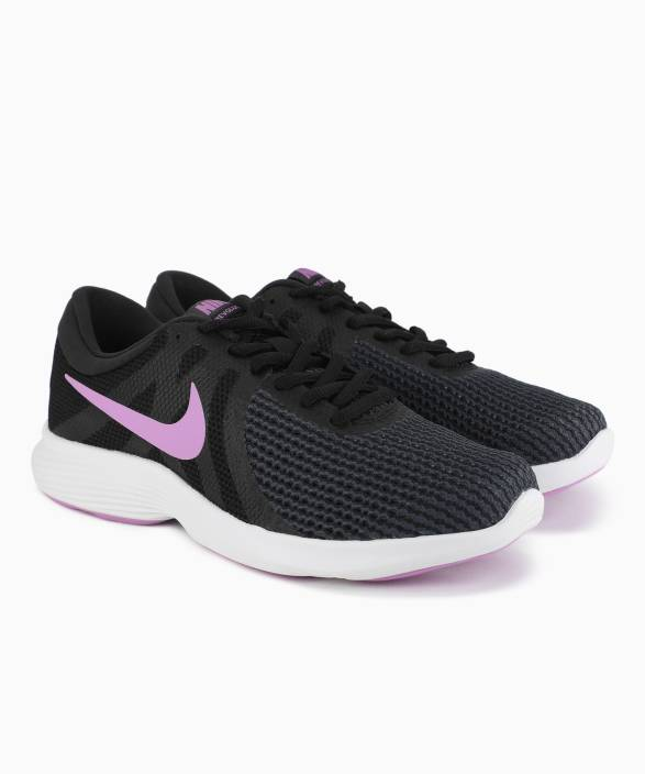 4fcc4f450067b Nike WMNS NIKE REVOLUTION 4 Running Shoes For Women - Buy BLACK ...