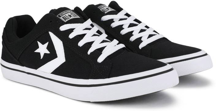 8d3f8faadcf7 Converse Cons El Distrito Sneakers For Men - Buy BLACK WHITE BLACK ...