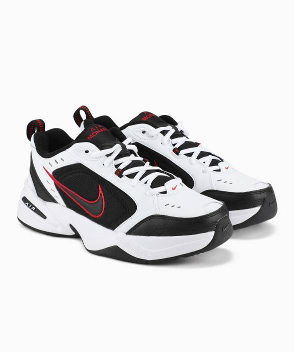 huge discount 81169 b8d3c Nike AIR MONARCH IV SS 19 Training  Gym Shoes For Men (Black, White)