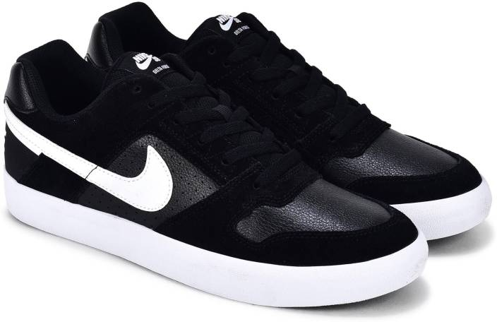 Nike SB DELTA FORCE VULC Sneakers For Men - Buy BLACK WHITE ... 966eb0195